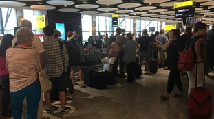 Delays and cancellations at Heathrow Airport as British Airways reports IT issues