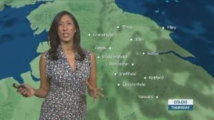 The morning weather forecast with Manali Lukha