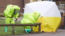 Reports say police have identified the suspected perpetrators of the Novichok attack