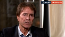 Sir Cliff Richard gave his reaction to the ruling exclusively to ITV News.