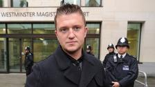 US politician condemned for speech backing Tommy Robinson