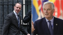 Dominic Raab and Michael Barnier are to try and steady the UK's withdrawal strategy.