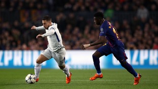 Barcelona are ready to test Chelsea's resolve by offering Dembele in exchange for Hazard plus other transfer rumours
