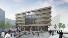 Work begins again at Sunderland's Vaux