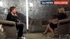 Watch extended version of Sir Cliff's interview with ITV News