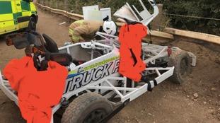 Former Emmerdale star airlifted to hospital after crash