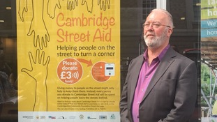 Contactless payments to help Cambridge's homeless