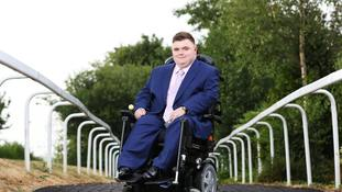 Disabled teenager lands job with FTSE 100 firm