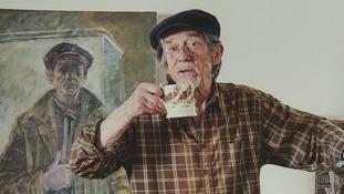 Sir John Hurt had painted 'all his life'.