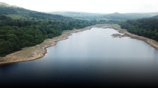Burrator Reservoir in Devon