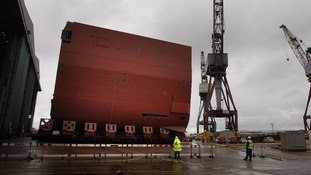 Major milestone for new warship