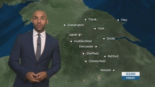 Late weather forecast with Alex Beresford
