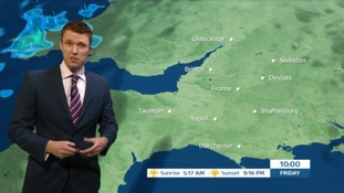 Weather: a good deal of sunshine but cloudy