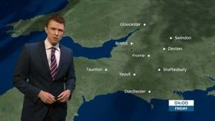 Weather: light winds with some rain