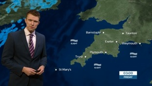 Weather: dry overnight followed by some rain