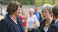 Theresa May begins two-day visit to Northern Ireland