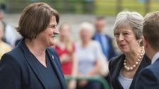 Theresa May begins two-day visit to Northern Ireland