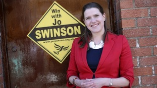 Lib Dem MP Jo Swinson