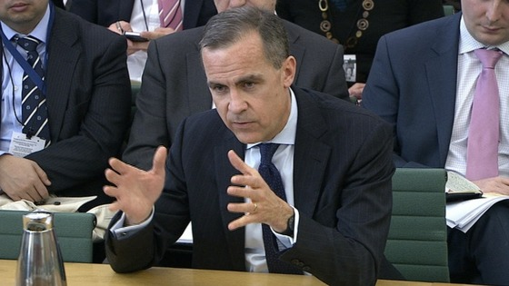 Mark Carney, the governor-designate of the Bank of England