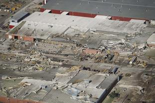 Damage to production plants at Vermeer Corp