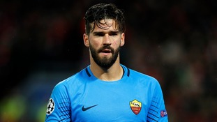 Liverpool sign Brazilian goalkeeper Alisson in world record deal