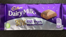 Dairy Milk bar with 30% less sugar set to be introduced