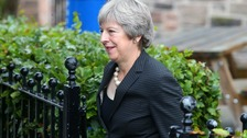 Theresa May set to make Brexit speech in Belfast
