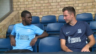 Southend United will be showing their support to Prostate Cancer UK next season.