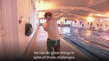 Teen representing Team GB at Down Syndrome World Swimming Championships