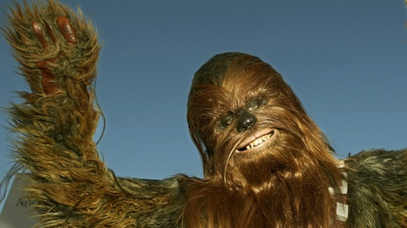 'Chewbacca' seen at the premiere of 'Star Wars - Episode III: Revenge of the Sith'