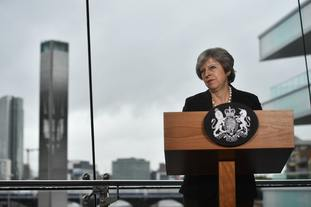 Prime Minister Theresa May urged the EU to 'evolve' its position on Brexit and not fall back on 'unworkable' ideas.