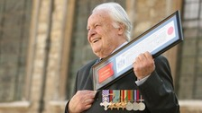 Youngest Spitfire pilot to fly in the Battle of Britain, Geoffrey Wellum, dies aged 96