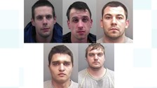 Five members of an organised crime gang have been sentenced for the raid on Michael Spiers Jewellery store.