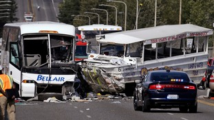 In 2015 in Seattle in which five college students were killed when a boat collided with a bus.