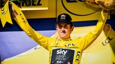 Tour de France: Geraint Thomas retains the leader's yellow jersey