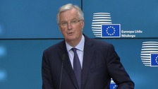 Michel Barnier said the white paper plans could weaken the single market.
