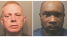 Jailed: Luton burglars who left grandfather with broken back and bleed on brain