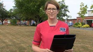 Lorna Wilkinson, Director of Nursing at Salisbury NHS Foundation Trust