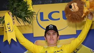 Tour de France: Geraint Thomas retains the leader's yellow jersey