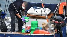 Major cocaine coup as bomb squad shut down Cornish harbour