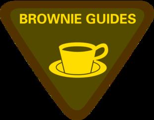 Girlguiding badge