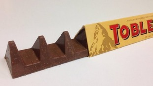 The new-design Toblerone faced criticism from fans.