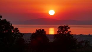 Solway sunset  TREVOR EARTHY