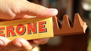 Toblerone will soon look like this again.
