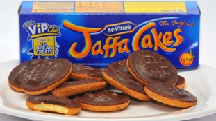 Jaffa Cakes droped in size from 12 to 10 per pack.