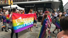 Thousands turn out for Newcastle Pride