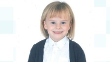 A six-year-old Daisy died while playing with two skipping ropes.