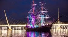 Foyle Maritime Festival Parade of Light