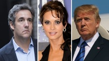 Trump: Playboy model payment recording 'perhaps illegal'