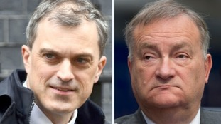 Julian Smith looks set to be left in the dark over Nick Brown's plans.